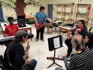 Croche Band - École de Québec