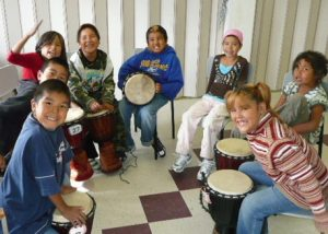 Ouverture de l'école de Jeunes musiciens du monde - Kitcisakik
