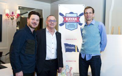 Communiqué – Défi kayak Desgagnés 2018: Yann Perreau de retour sur le Saint-Laurent !