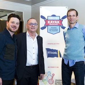 Lancement du 4e Défi kayak
