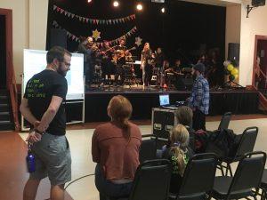 Spectacle de fin d'année - Répétition générale