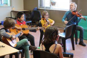 Pratique à Jeunes musiciens du monde - Québec